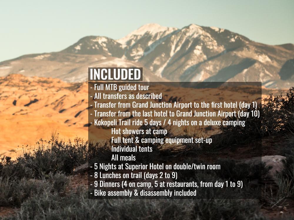 Moab and Kokopelli Trails MTB 02